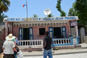 This building is proposed as the temporary location for the library project in Haiti