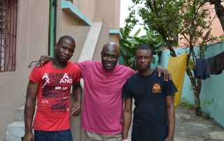 Students Appreciation for Education with Return2Haiti Founder