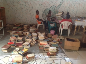 Sorting the books